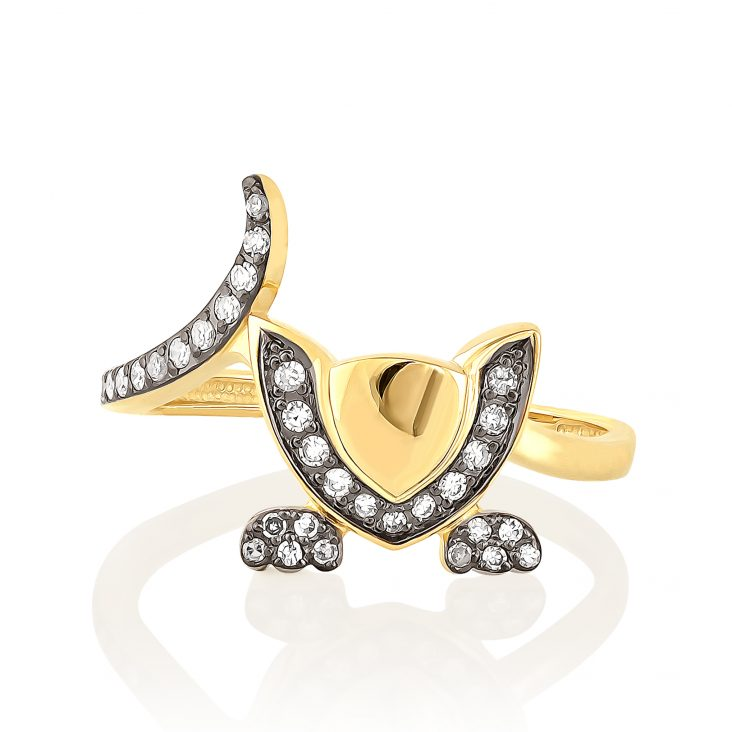 Кольцо 11-2978-1089 золото
