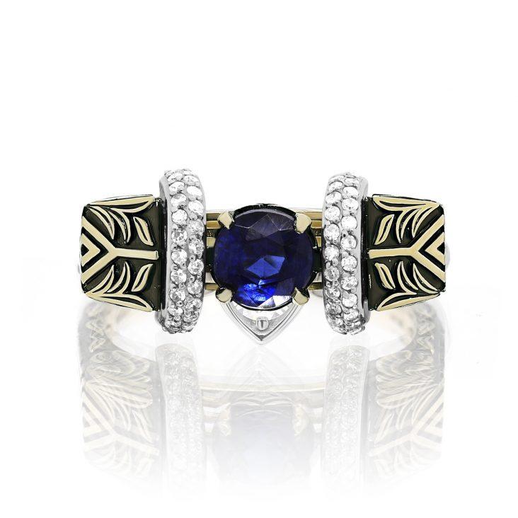 Кольцо 11-21344-9889 золото