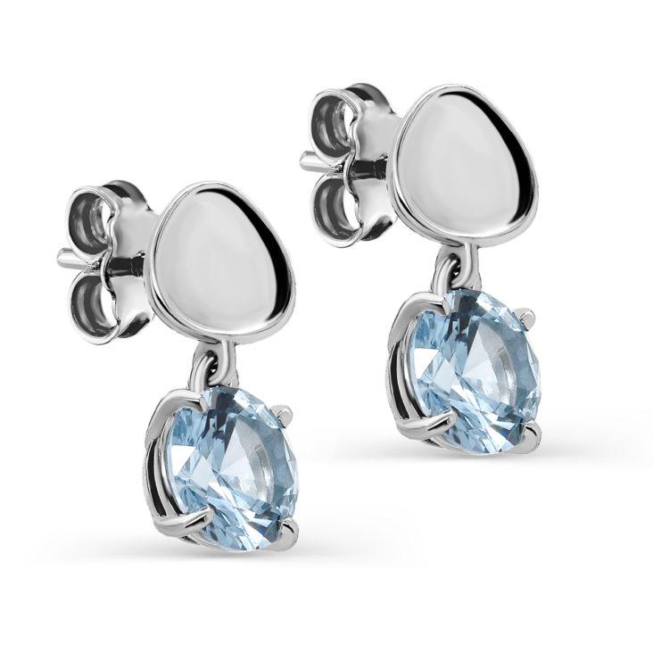 Пусеты 12-255-73100 серебро