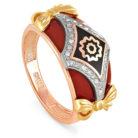 Кольцо 11-0600-1001 золото