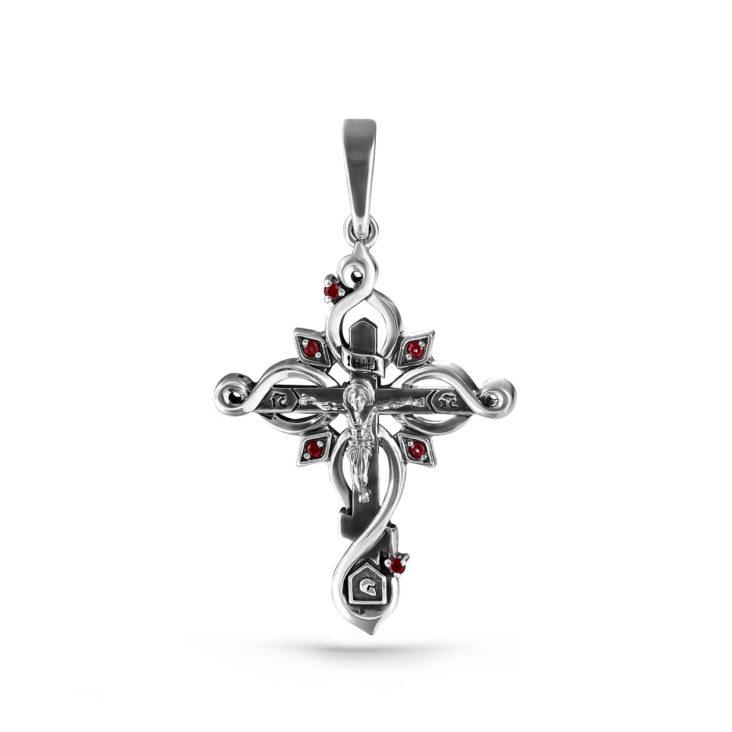 Крест 3-165-8589 серебро