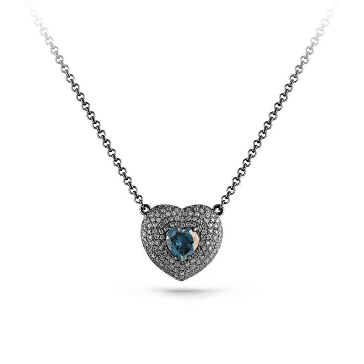 Колье 16-175-7889 серебро