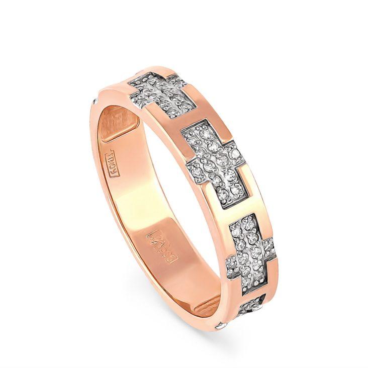 Кольцо 1-0432-1000 золото