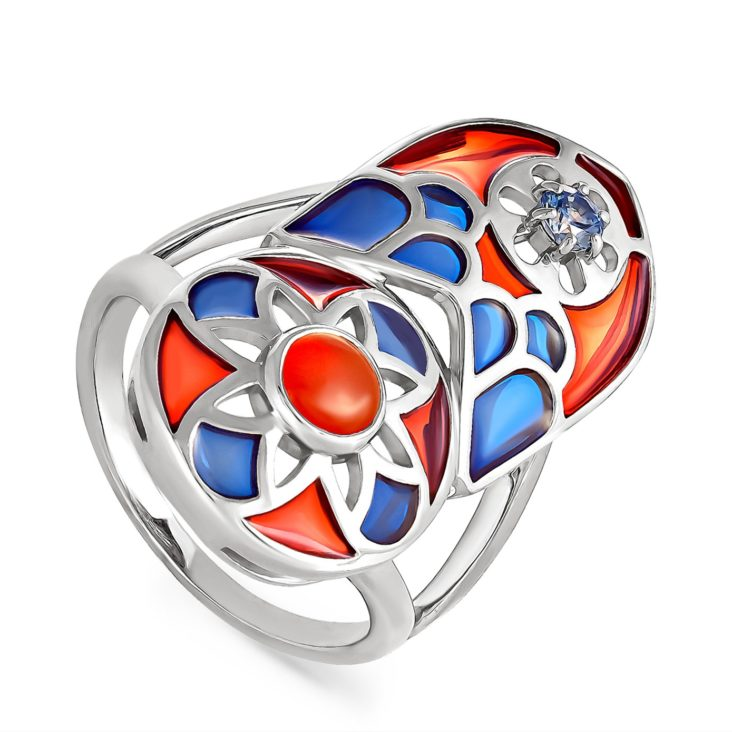 Кольцо 11-127-6601 серебро