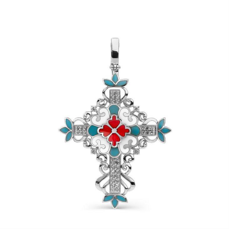 Крест 3-188-8101 серебро