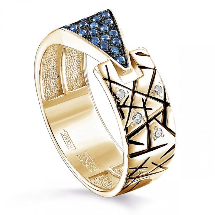 Кольцо 11-21147-2302 золото