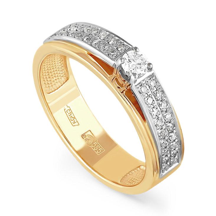 Кольцо 11-2773-1000 золото