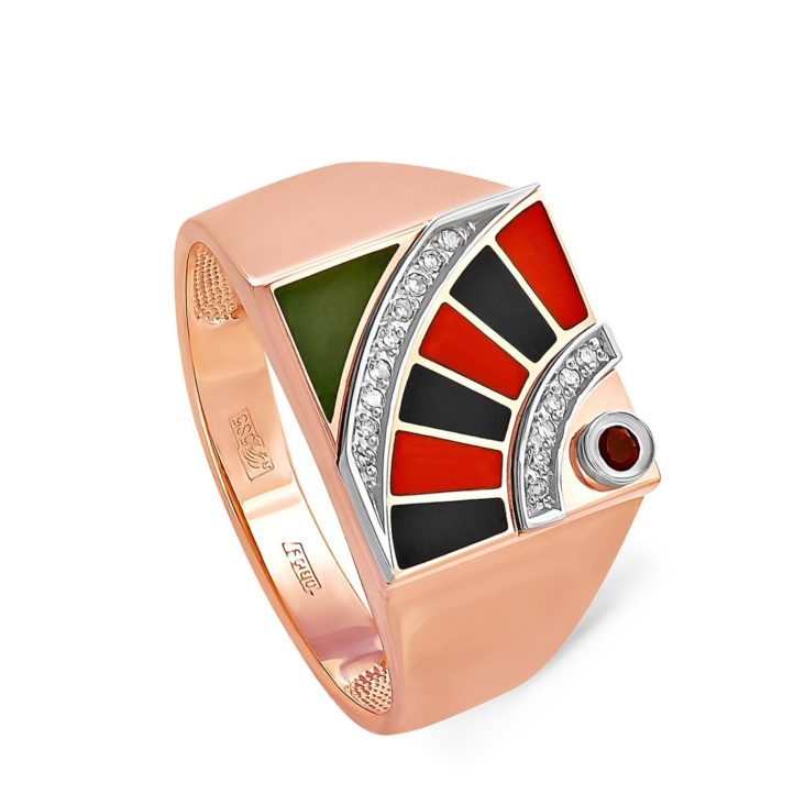 Кольцо 1-0205-3501 золото