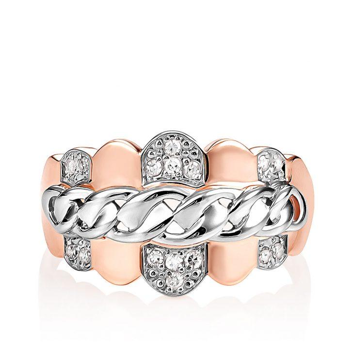 Кольцо 1-0478-1000 золото
