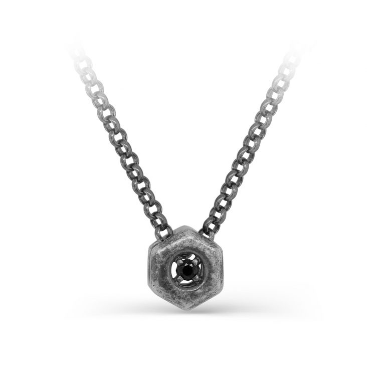 Колье 16-282-31083 серебро