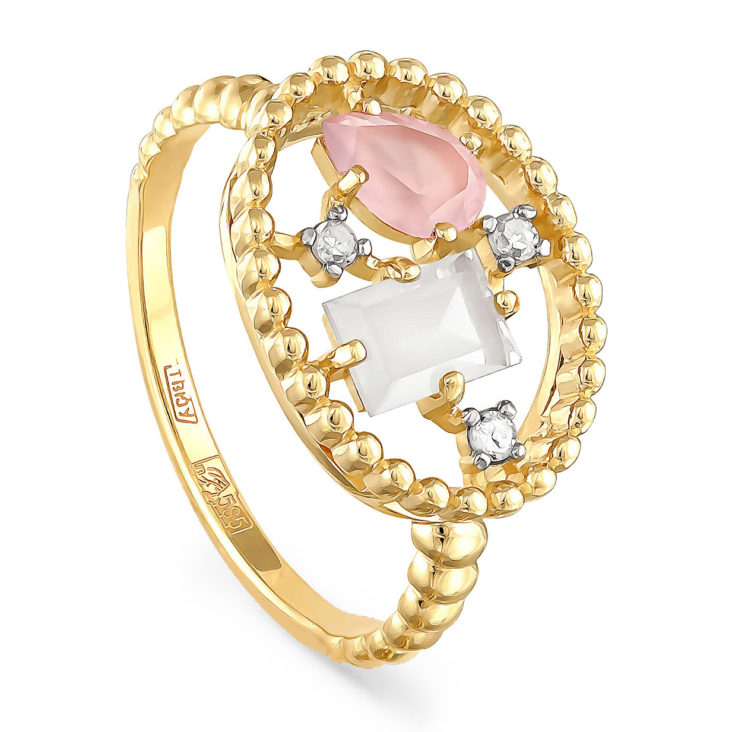 Кольцо 11-2980-4000 золото