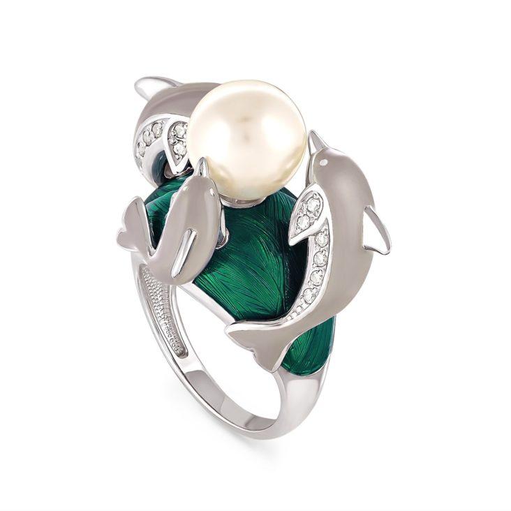 Кольцо 11-018-1501 серебро