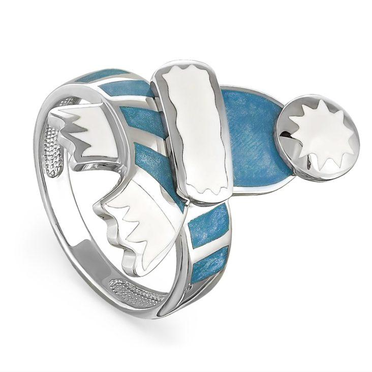 Кольцо 11-051-0005 серебро