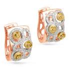 Серьги 12-0711-1000 золото