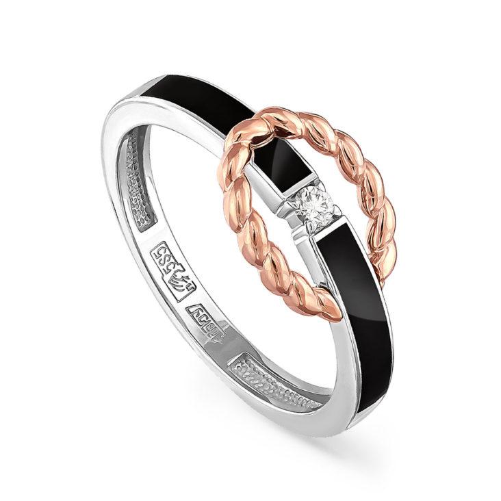 Кольцо 11-11058-1002 золото