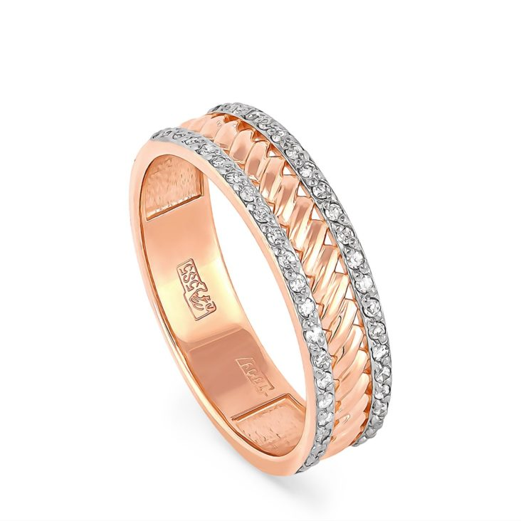 Кольцо 1-0419-1000 золото