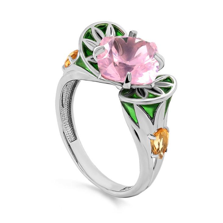 Кольцо 1-062-50713 серебро
