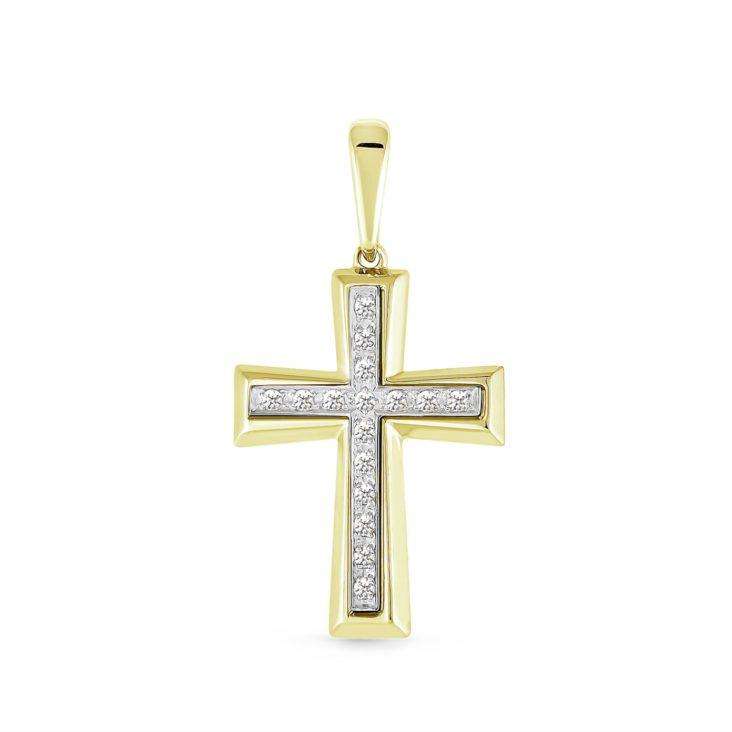 Крест 3-203-7984 серебро