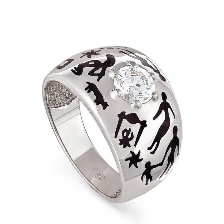 Кольцо 11-015-8102 серебро