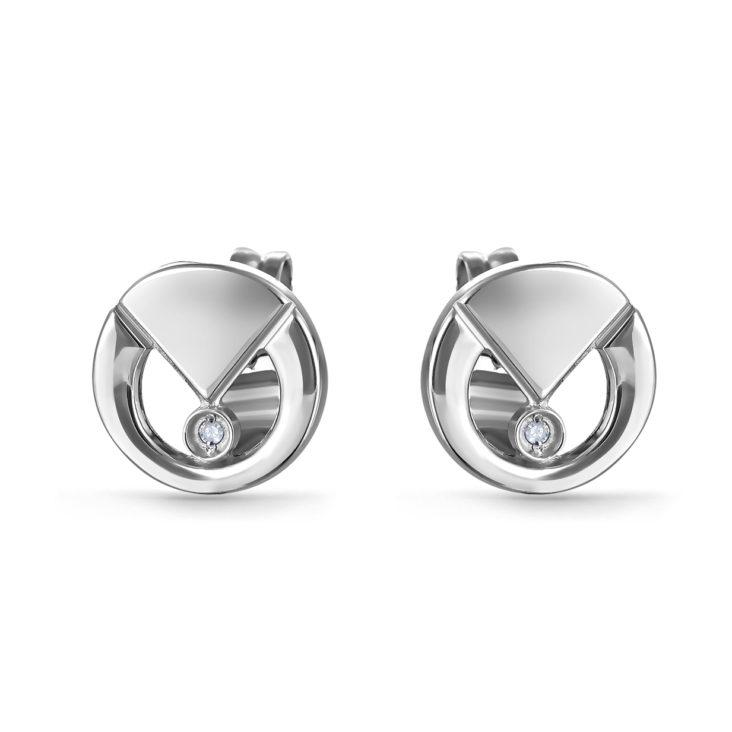 Пусеты 12-230-1000 серебро