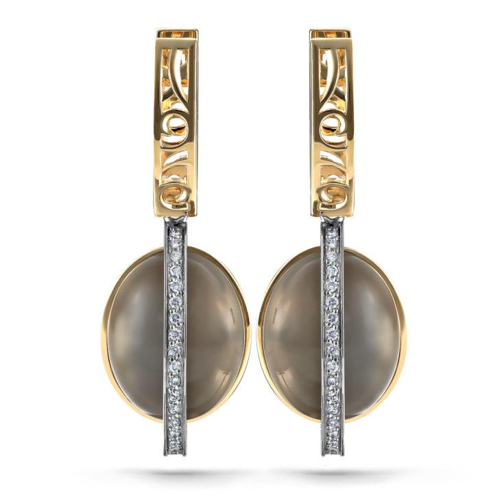 Серьги 12-21271-8700 золото