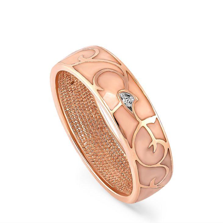 Кольцо 1-0337-1021 золото