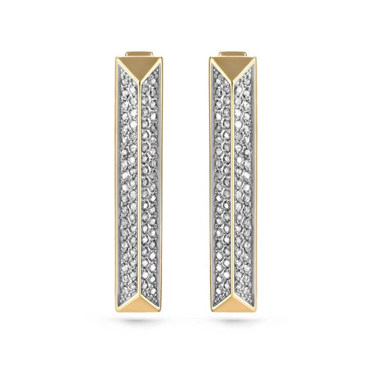 Серьги 12-21057-1000 золото
