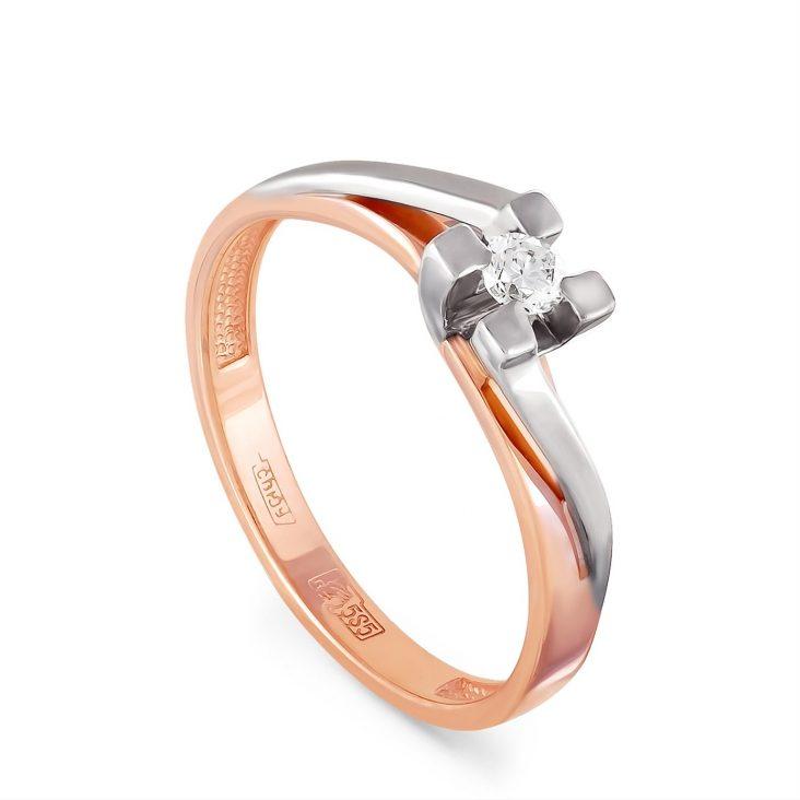 Кольцо 1-0330-1000 золото
