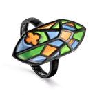 Кольцо 11-243-0001 серебро