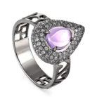 Кольцо 11-176-5389 серебро