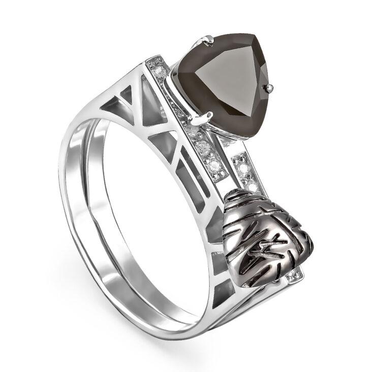 Кольцо 11-170-1800 серебро