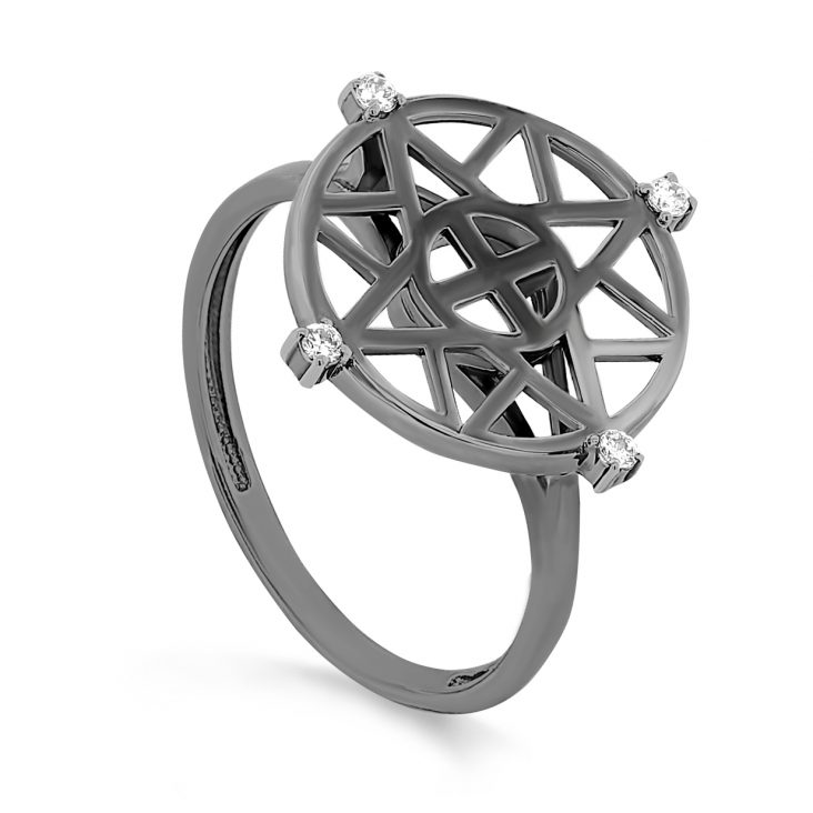 Кольцо 11-259-7989 серебро