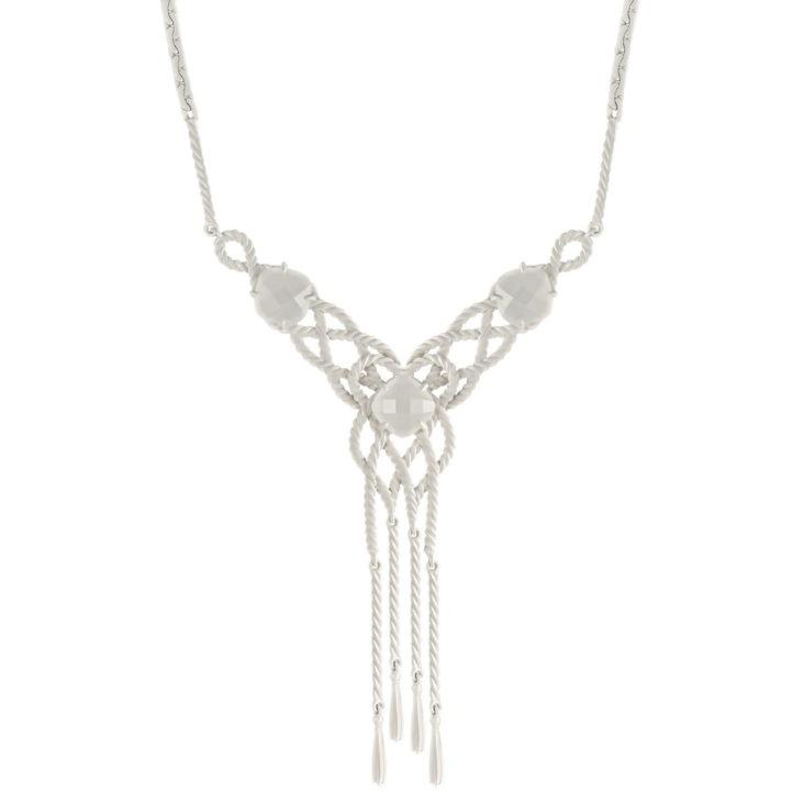 Колье 6-019-9599 серебро