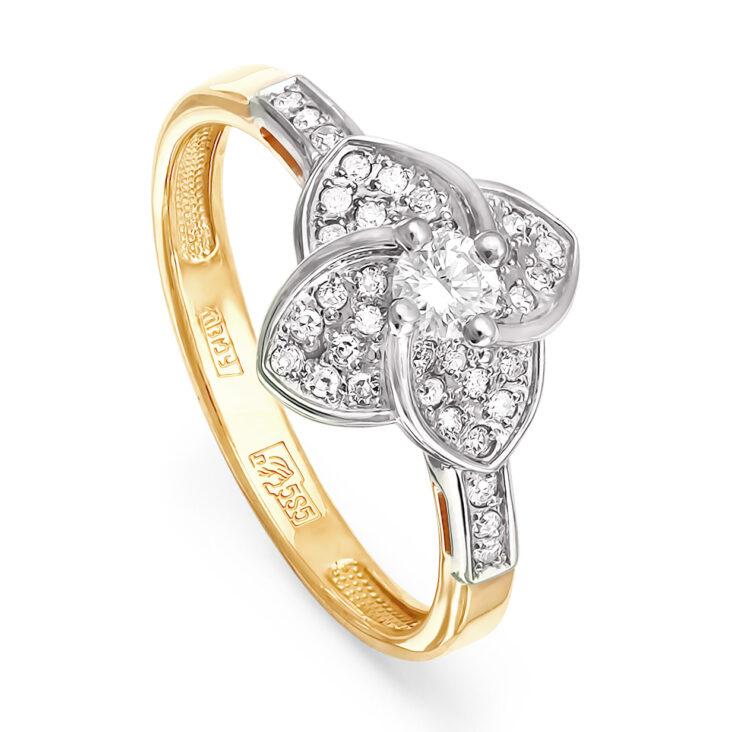 Кольцо 11-2557-1000 золото