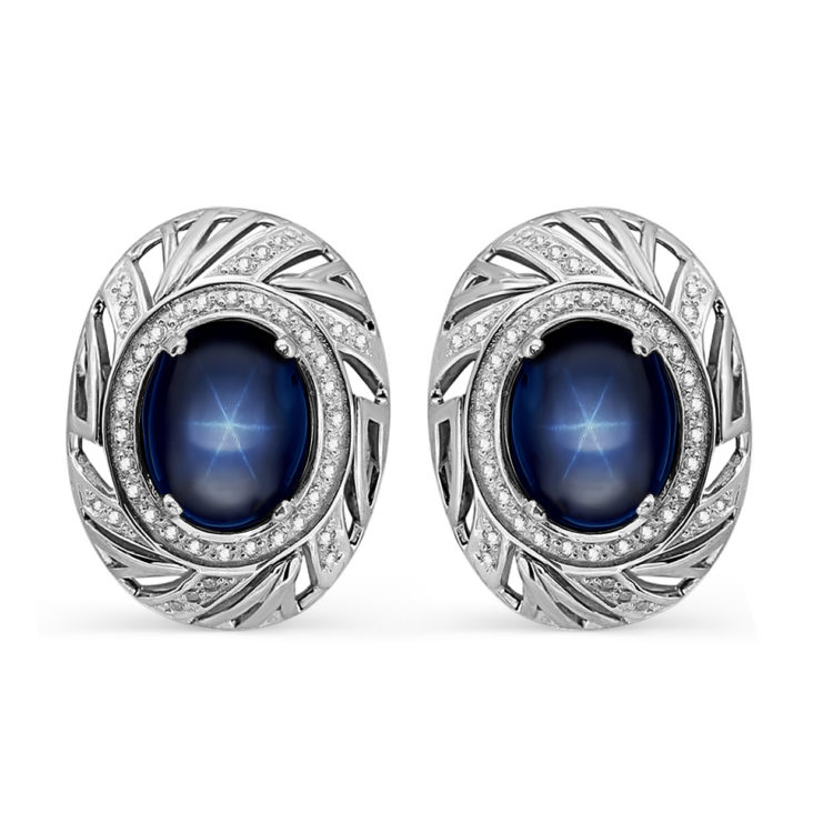 Серьги 12-188-1400 серебро