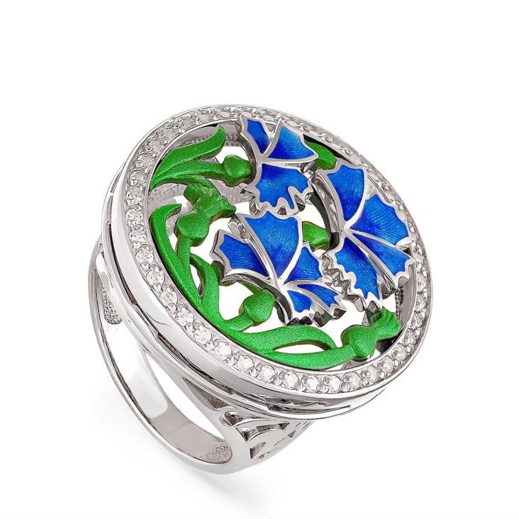 Кольцо 1-009-8101 серебро