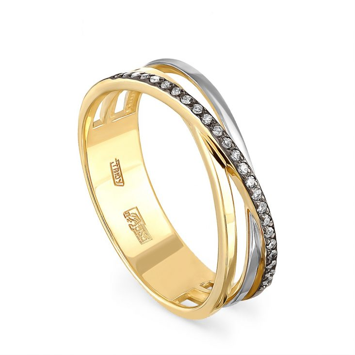 Кольцо 1-2467-1000 золото