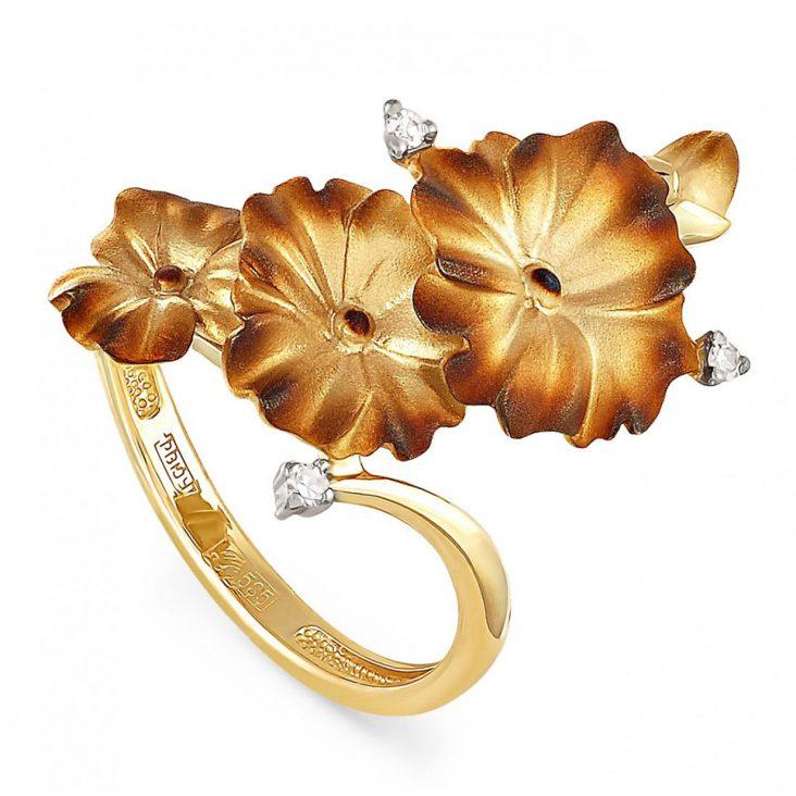 Кольцо 11-2779-1000 золото