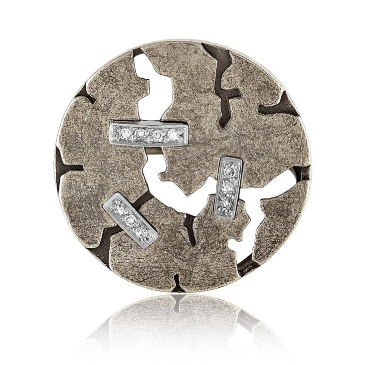 Кольцо 11-143-1295 серебро