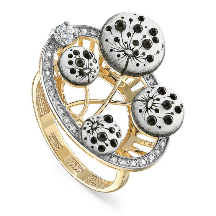 Кольцо 11-21229-1022 золото