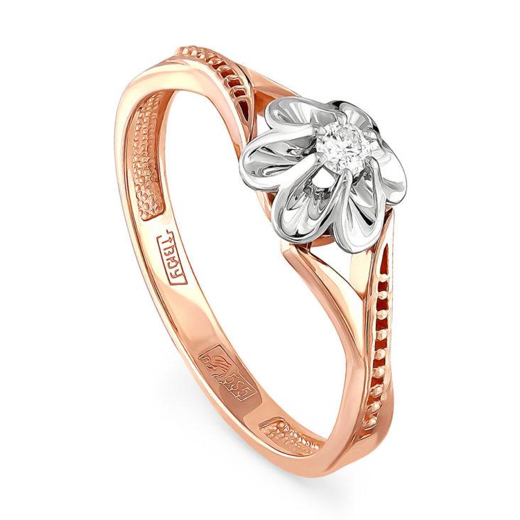 Кольцо 11-0955-1000 золото