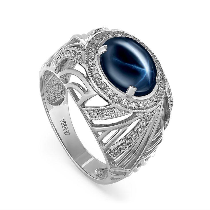 Кольцо 11-188-1400 серебро
