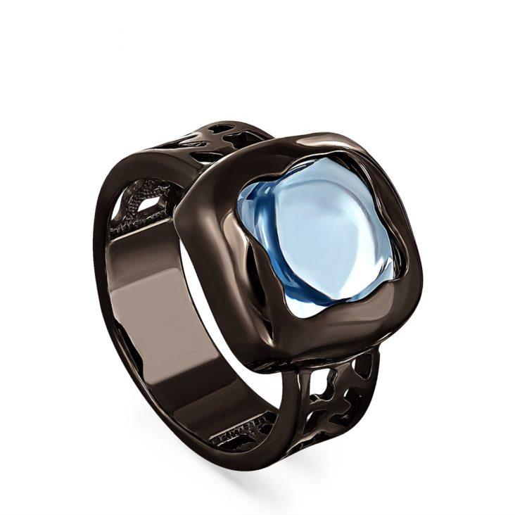 Кольцо 11-149-7089 серебро