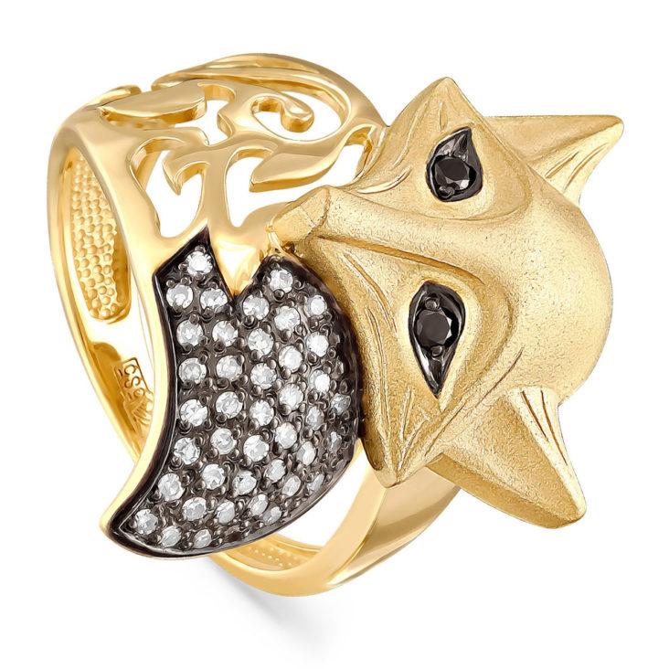 Кольцо 1-2300-2089 золото
