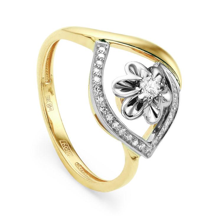 Кольцо 11-2757-1000 золото