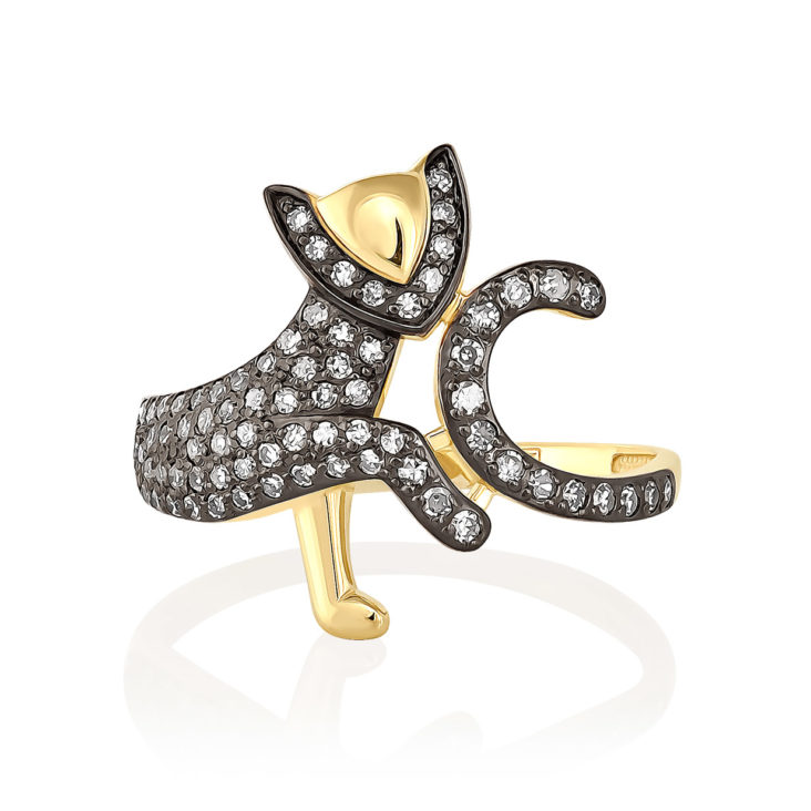 Кольцо 11-21000-1089 золото