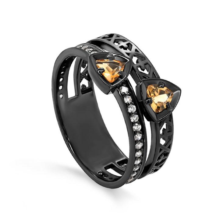 Кольцо 1-052-2989 серебро