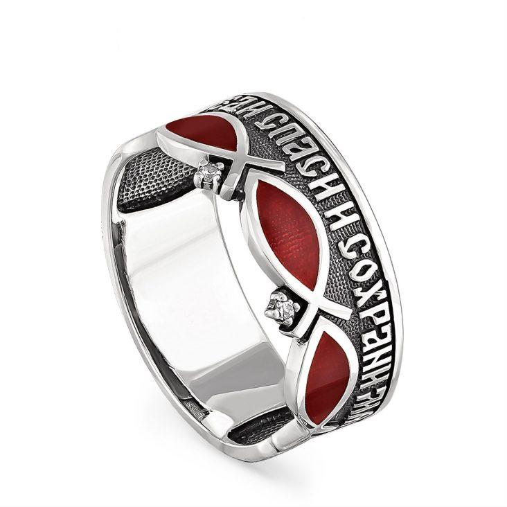 Кольцо 1-035-8120 серебро