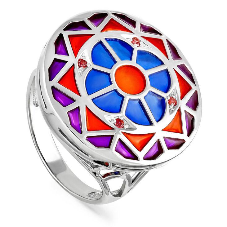 Кольцо 11-128-30301 серебро
