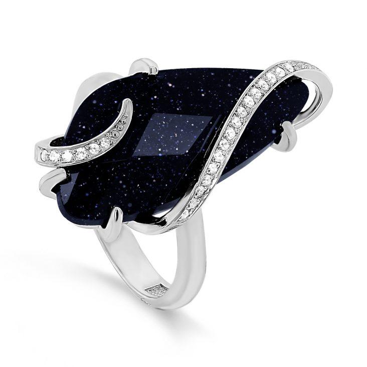 Кольцо 11-264-1300 серебро